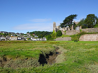 view of Laugharne